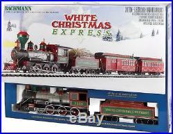 Bachmann Trains White Christmas Large'G' Scale Ready-to-run Electric Train Set