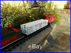 Bachmann's Big Hauler Night Before Christmas G Scale Train Set Complete