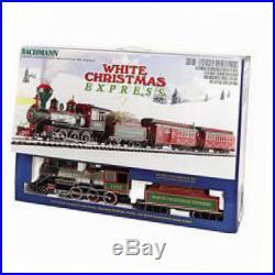 Bachmann white christmas express ready to run electric train set large g