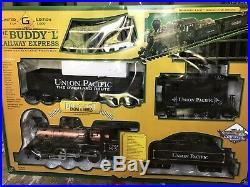 Buddy L Railway Express Limited Edition Train Set G Scale Diecast Engine& Wheels