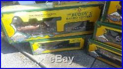 Buddy L Railway Express Limited Edition Train Set G Scale Diecast railroad #53
