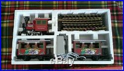 Christmas in July LGB North Pole Express Rudolph Train Set Original Box