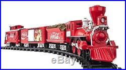 Coca Cola Train Set Lionel Locomotive Christmas Holiday Remote Control Track New