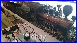 Custom built Layout 3 TRAINS at once! G scale train set (LGB, Piko, Bachmann)