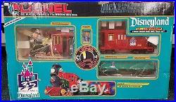 Disney Disneyland 35th Anniversary Large Scale Lionel Electric Train Set NIB