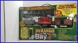 EZ-TEC Radio Control'G' Gauge Durango Express Train Set