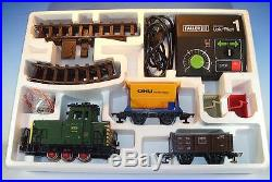 Faller E Train 3806 Güterzug Set mit Schienen & Lok Pilot in O-Box #5518