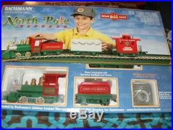 G Bachmann 90198 LIL Big Haulers North Pole Express Train Set Lnib