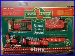 G Scale Lionel Holiday Special Christmas Train Set Electric Locomotive COMPLETE