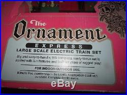 G Scale Lionel The Ornament Express Train Set, Christmas Train #2