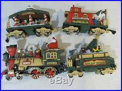 G Scale New Bright Holiday Express Animated Train Set 380 Preowned Tested 1997