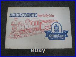G Scale Rio Grande Train Set by Kalamazoo (Engine, 2 Passenger Cars)