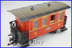G Scale Train LGB 20301 BP Buffalo Pass Scalplock and Denver Starter Set + Track