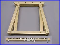 G-Scale Trestle-Mounted Garden Train Layout Support Set