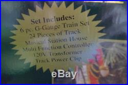 Great The Holiday Express Animated Train Set With Music and Lights