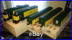 Great Trains 1 Gauge C&nw F40 Passenger Set