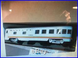 Great Trains 5 Car Set Of Santa Fe Streamliner Cars Diner, 3coaches, Observation
