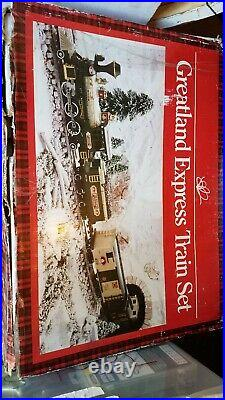 Greatland Express Train Set G Scale Battery Operated New Bright Toys Christmas