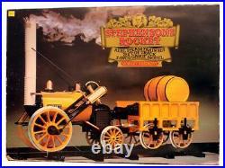Hornby'g' Gauge Stephensons Rocket Real Steam Train Set