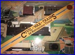 Kalamazoo G Scale 20001 Union Civil War Train Set In Original Box Free Shipping