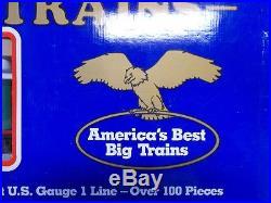 Kalamazoo Train Over 100 Piece Set G Scale