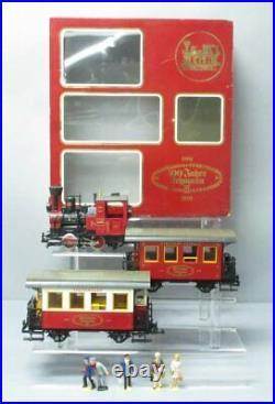 LGB 100 Jahre Lehmann G Gauge Steam Train Set/Box