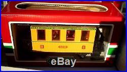 LGB 100 Yr Passenger Train Set + Track Expansion Set + Extra Car + Crane + Track