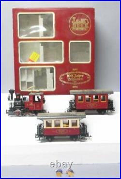 LGB 100th Anniverasary G Gauge Steam Train Set (Train Only)/Box