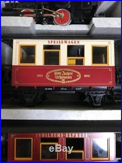 LGB 100th Anniversary Jahre Lehmann Model Train Set G Scale withOrig. Box