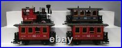 LGB 150 150th Anniversary G Gauge Steam Train Set EX/Box