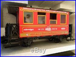 LGB 150 Jahre Deutsche Eisenbahnen 1835-1985 Train Set # 20535