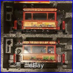 LGB 1968-1988 Trolly Train 2 Piece Set