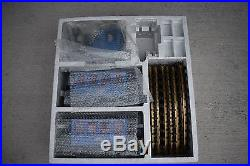 LGB 20301BZ G Scale The Blue Train Set Loco, 2 Cars and Brass Track Starter Set