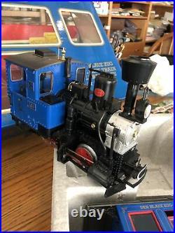 LGB 20301BZ The Blue Train Passenger Set