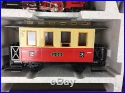 LGB 20301 US Passenger Starter Train set with track and power pack-ln
