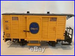 LGB 20401 Starter TRAIN Set Chiquita Collection WithExtras G Scale WithBOX EUC