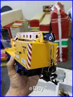 LGB 20501 Goods Steam Freight Train Set WithCrane (No Track)