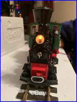 LGB 20501 Goods Train Set 2020 LOCO 4021 Gondola 4042 Kranwagen G Scale