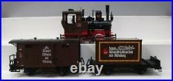 LGB 20526 Lebkuchen-Sonderzug G Gauge Steam Starter Train Set EX/Box