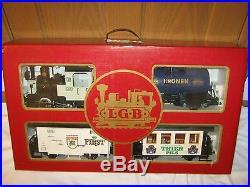 LGB 20536 DORTMUND OCTOBERFEST MIXED BEER TRAIN SET G Scale