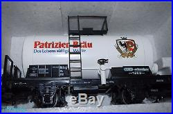 LGB 20539 G Scale The Big Train Nurnberger Bierzug Beer Train Set