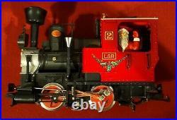 LGB 20540US G Scale Christmas Santa Train Steam Loco Passenger Set/Box