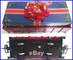 LGB #20540 Christmas Santa Train Set G Scale Locomotive Starter Set Car Railroad