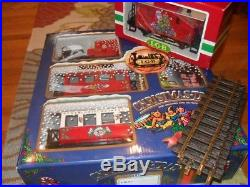 LGB 20540 Christmas Train G Scale Set Original Box Caboose Extra Track Beautiful