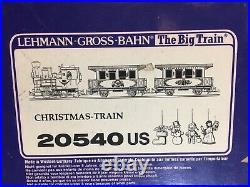 LGB 20540 Christmas Train Set with Lights! G Scale