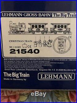 LGB 20550 Christmas train set very good condition