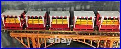LGB 20701T Open Passenger Train Set 3 Extra Cars Original Box G Scale