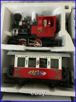 LGB 21540 Christmas Passenger Train Set