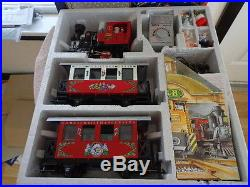 LGB 21540 Christmas Santa Train Steam Locomotive Passenger Set G-Scale