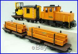LGB 21990US Work Train Starter Set EX/Box